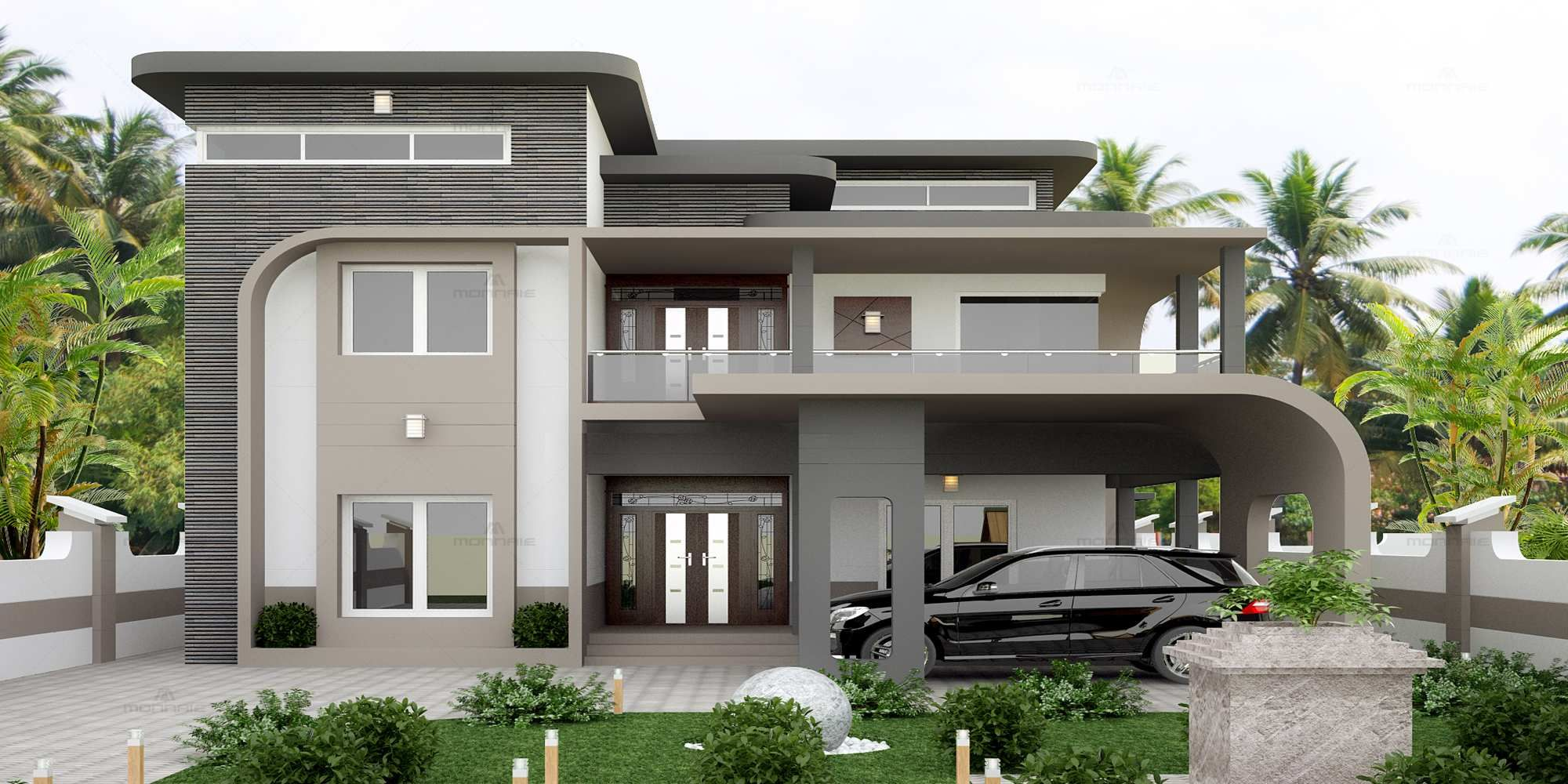 Modern Home Architects In Kozhikode Architects In Kerala