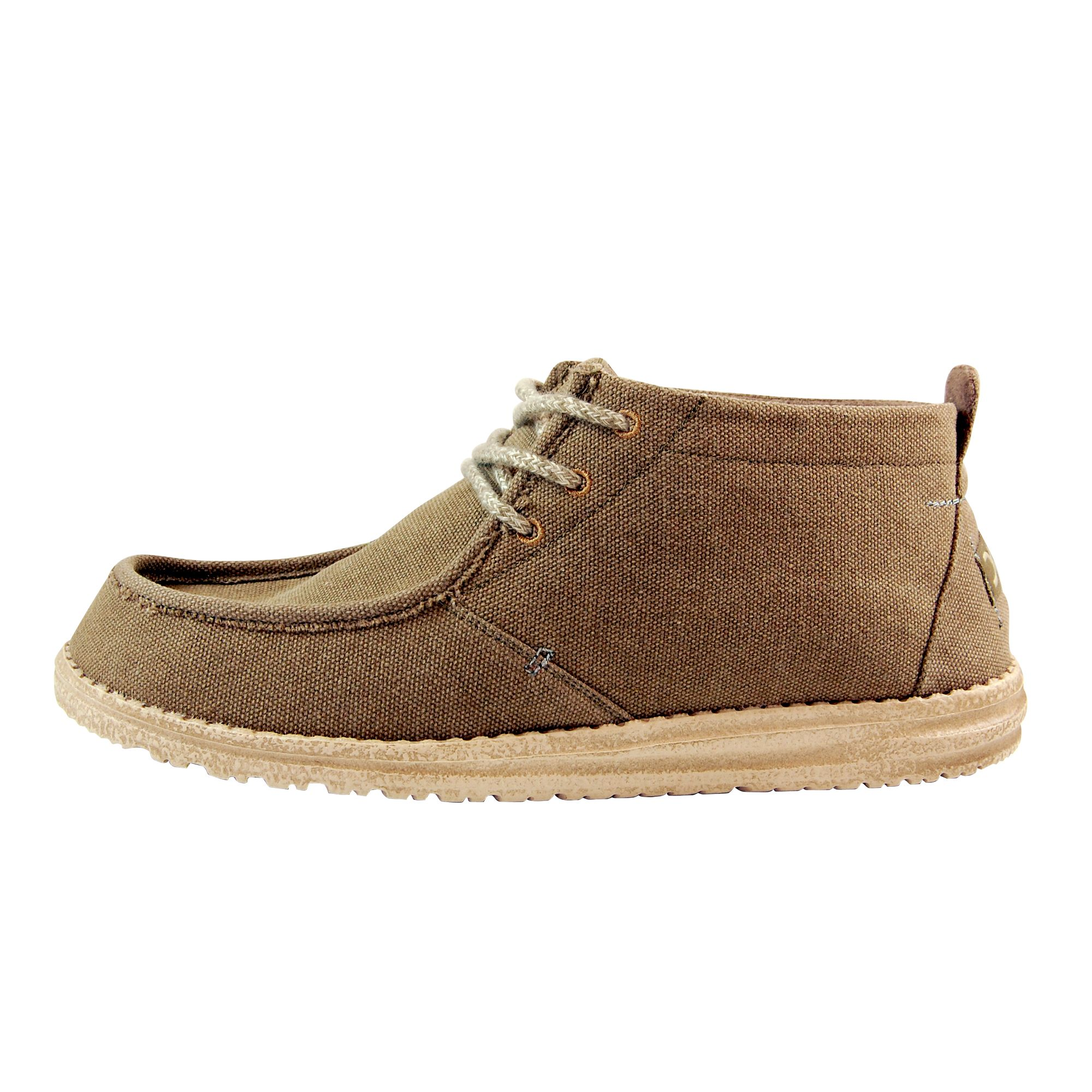 Hey Dude Conrad Shoes Olive Dude Men/'s Shoes Casual Shoes