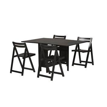 $284 Linon Space Saver 5 Piece Dining Set