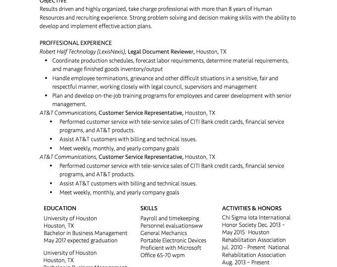 teacher resume template for word  1