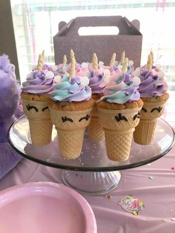 Fiesta Unicornio 🦄🌈 +51 Tiernas Ideas Multicolor Fiestas de