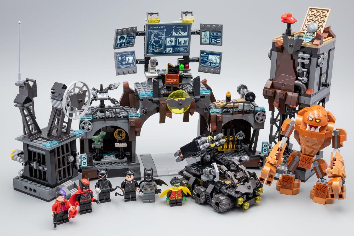 Vite testé LEGO Batman 76122 Batcave Clayface Invasion