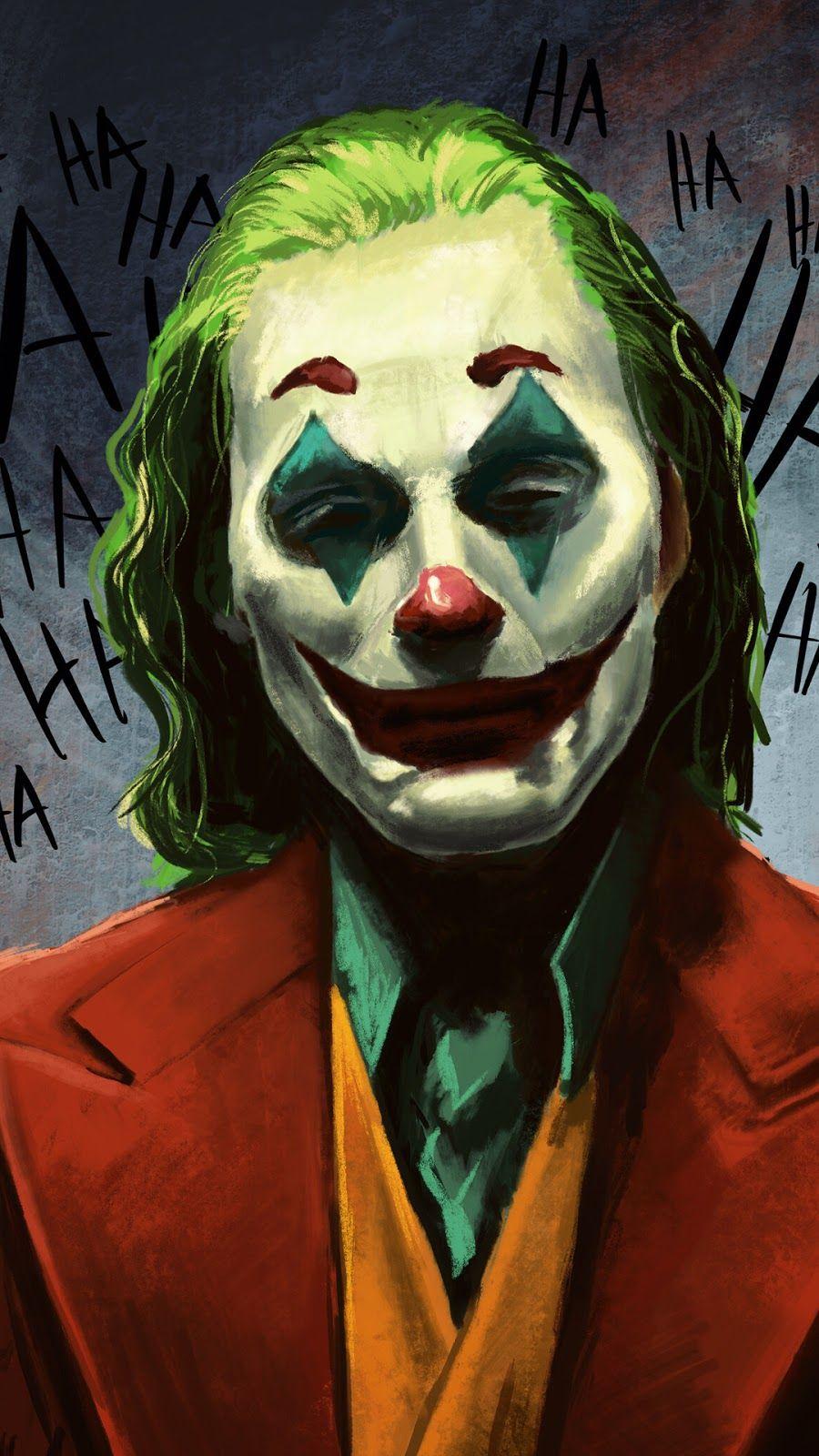 A Wallpaper Of Joker Laughing Art Hd Free Download 1080x1920 In 2020 Joker Wallpapers Joker Joker Art