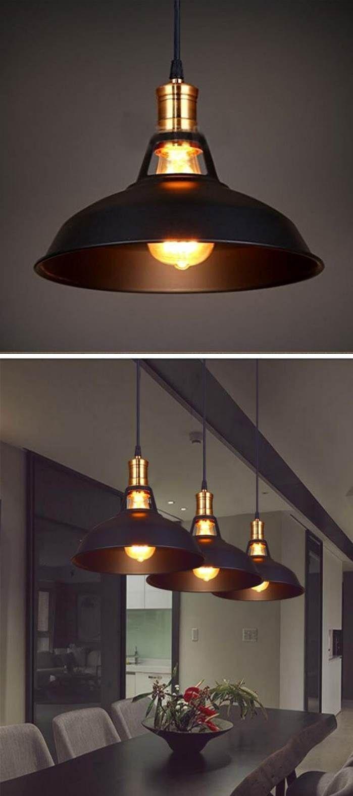 Stylische Pendelleuchte im Industrial Style. #lamp #dekoration ...
