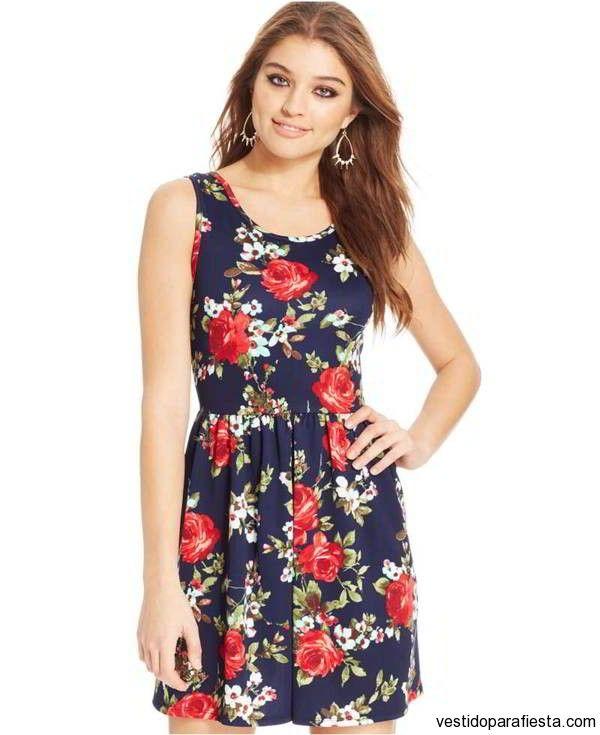 vestidosfloreados | Faldas | Pinterest | Vestidos baratos, Vestido ...