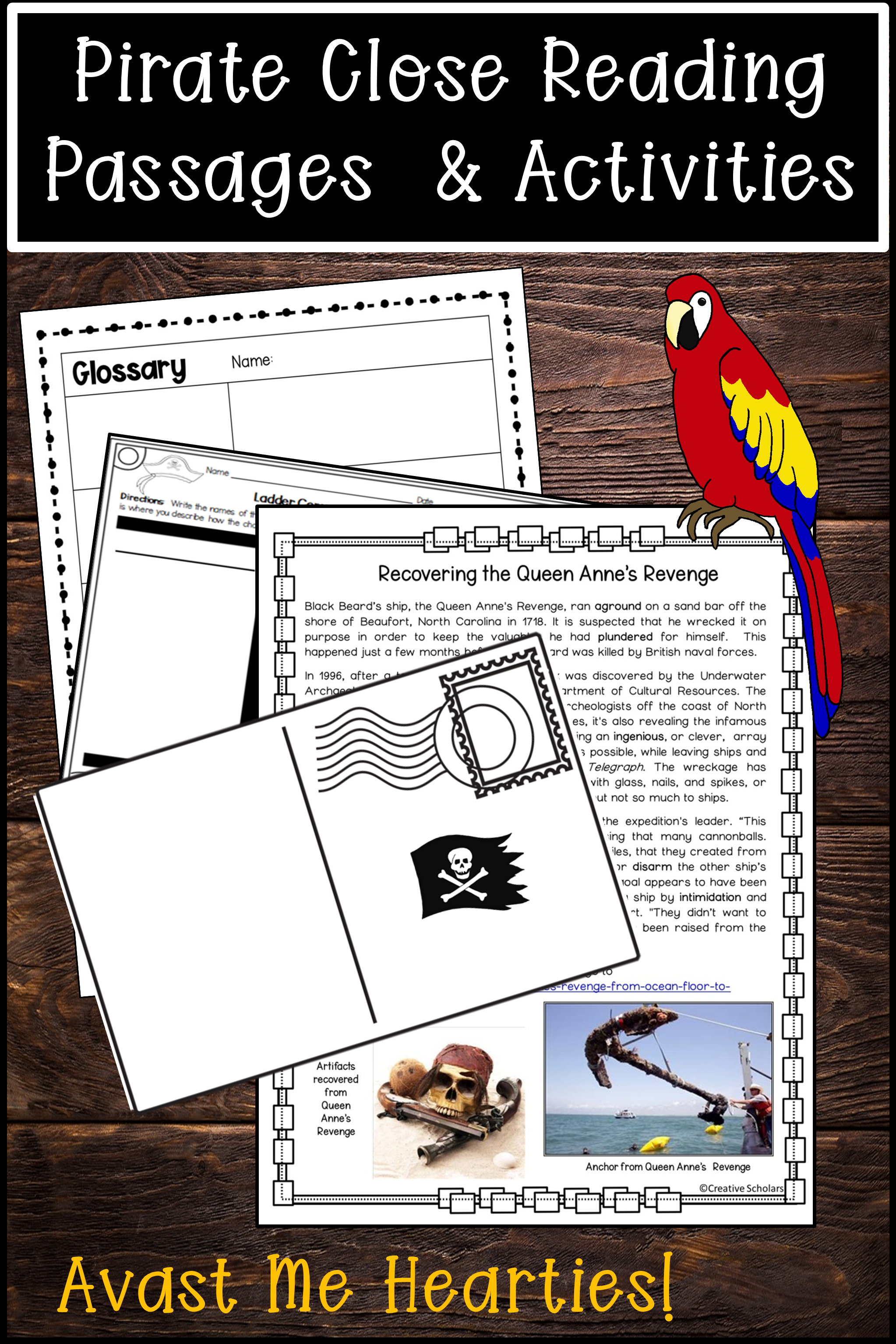 Pirates Close Reading Passages And Activities In 2020 Close Reading Passages Reading Passages Close Reading [ 3069 x 2046 Pixel ]