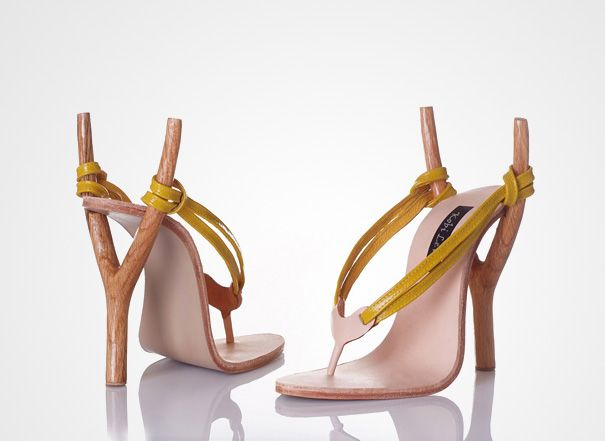 check out http://kobilevidesign.blogspot.com/  for other very humorous cool high-high heels.