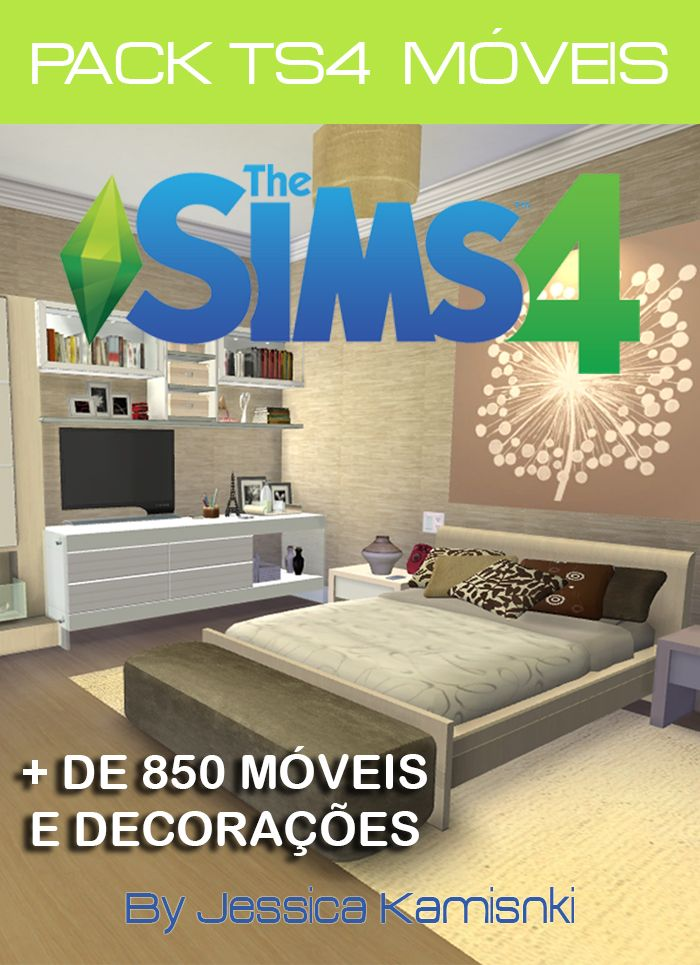 Nathys sims pack ts4 m veis by jessica kaminski casa e for Pack travaux