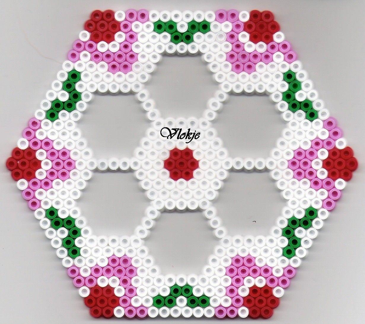 Sechseck Bugelperlen Hexa Perler Beads Perler Crafts Perler Beads Designs Perler Bead Patterns