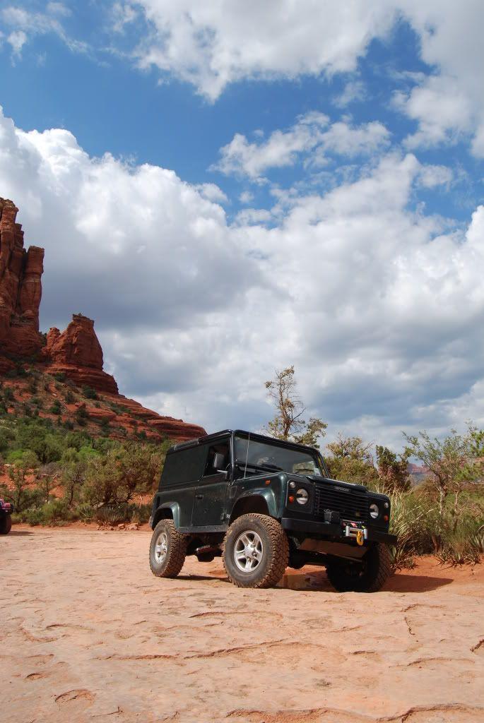 Currently in Arizona, heading towards Moab then Colorado next week.