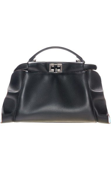 5cad311684 Fendi  Mini Peekaboo - Wave  Leather Bag available at  Nordstrom ...