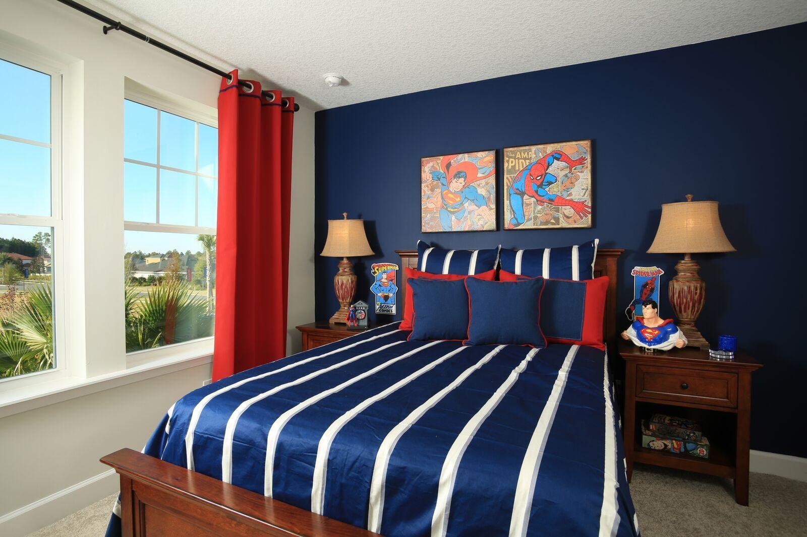 Bedroom 3 superman spiderman bedroom d co boys superhero bedroom avengers bedroom et boys - Deco chambre spiderman ...
