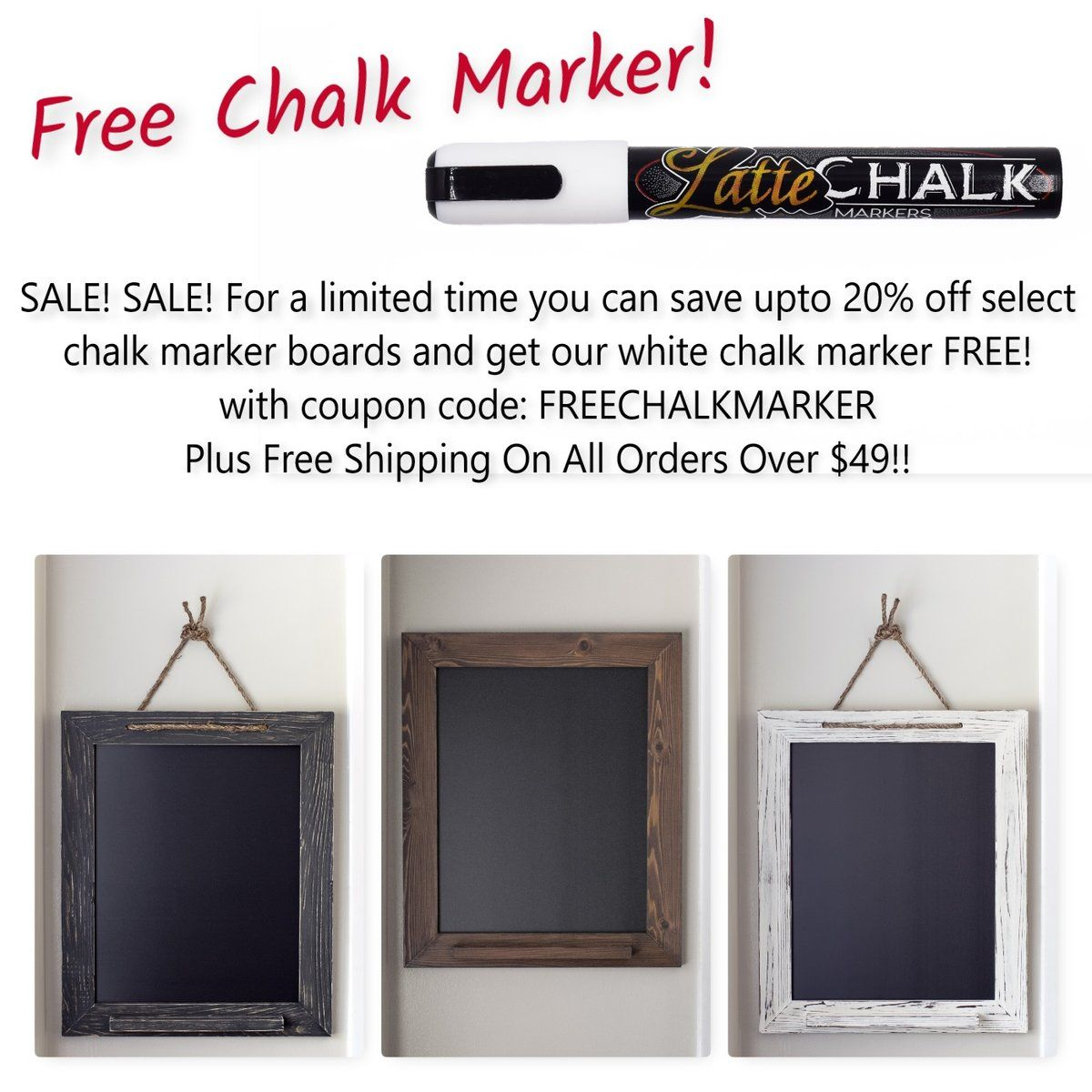 Pin by A Latte Decor on Chalkboards   Chalk markers, White ...