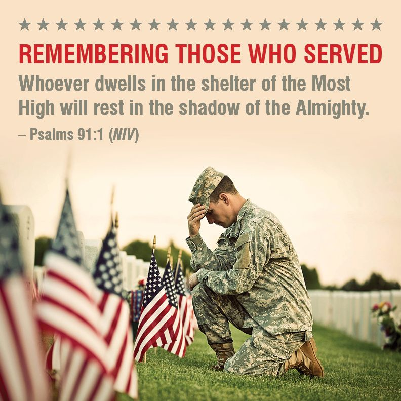 Memorial Day, Honoring Those Who Served
