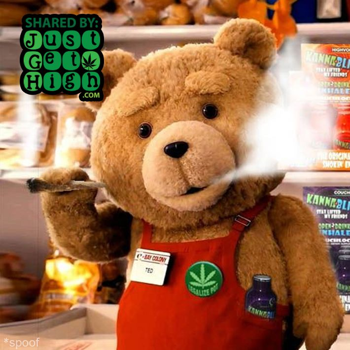 #JustGetHigh: Oh Ted. #funny #stoner #clouds #smoke # ...