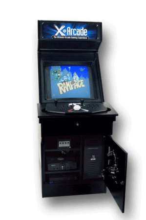 X Arcade Machine Cabinet With 205 Arcade Classics   Much Easier Than  Building My Own