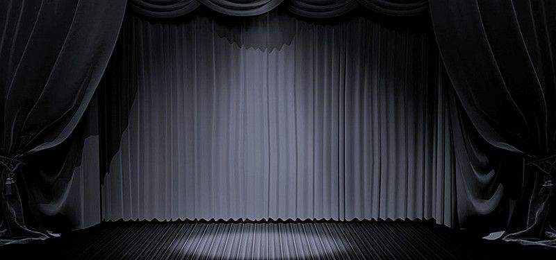 Black Stage Background Material Stage Background Background Decor