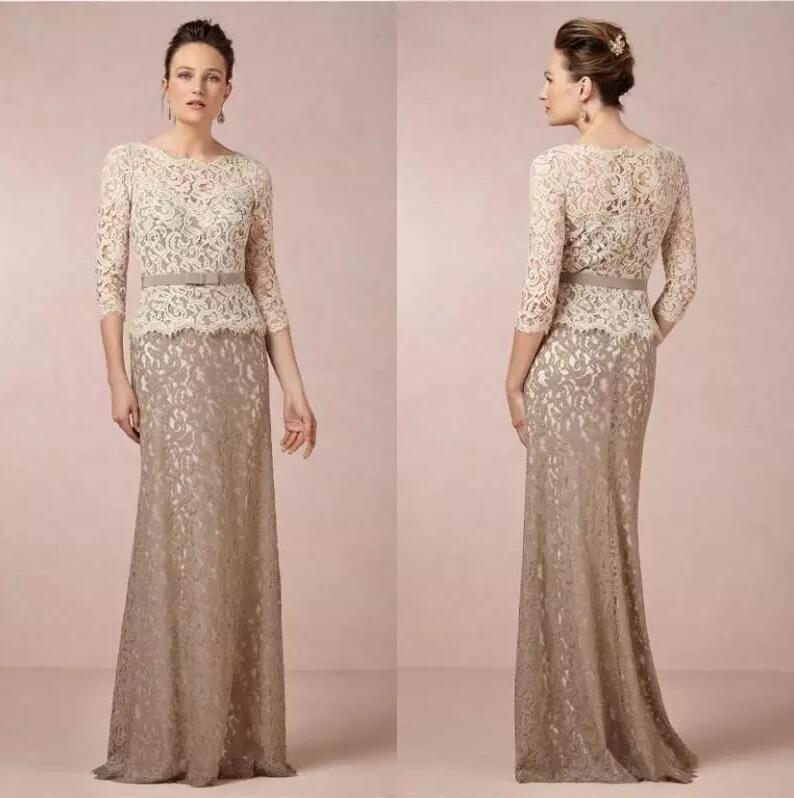 Lace Mother Bride Dresses