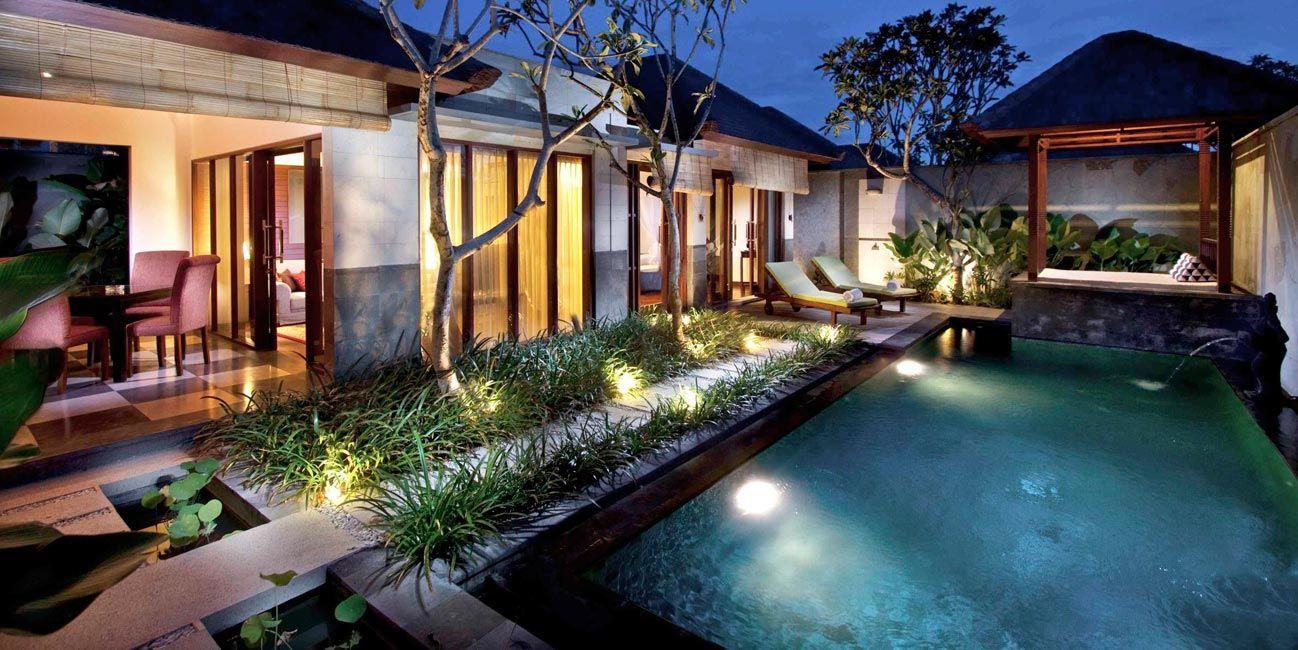 Luxury House Pool home exotic luxurious house interior design dreams villa seminyak