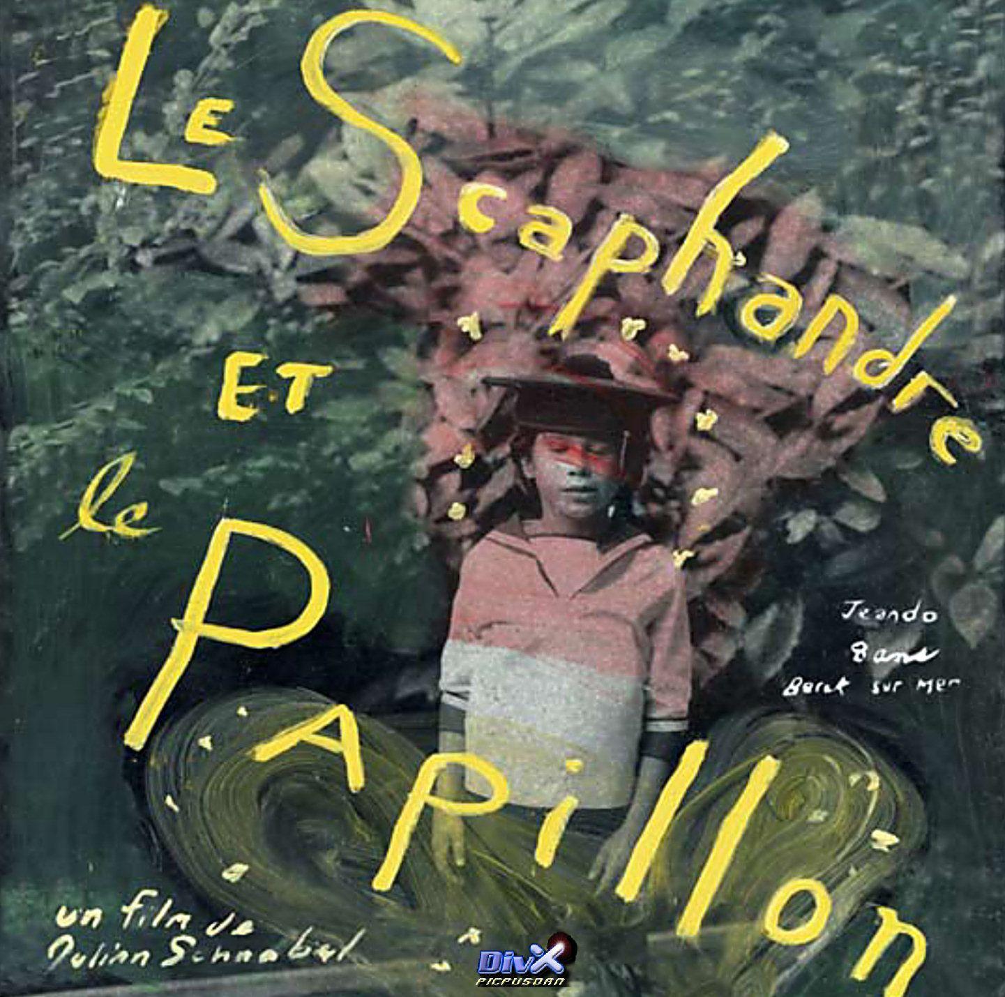 """""""Le scaphandre et le papillon"""" de Julian Schnabel avec Mathieu Amalric, Emmanuelle Seigner. 2002"""