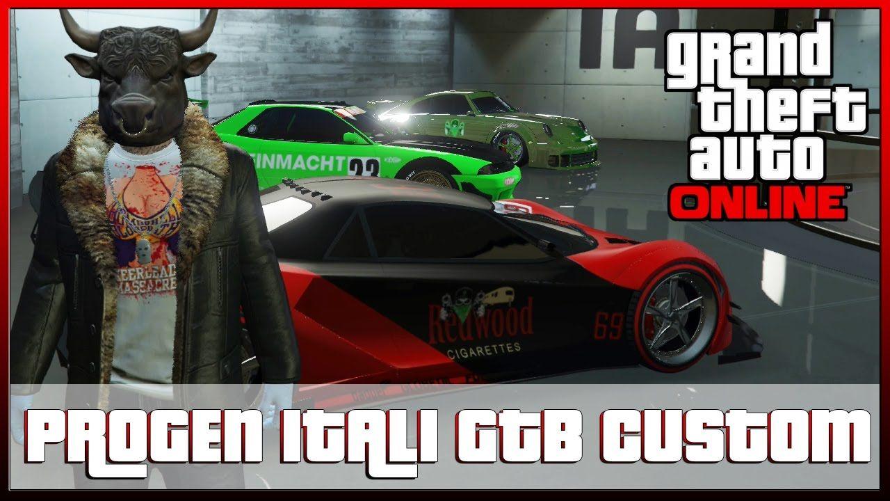 GTA 5 PROGEN ITALI GTB CUSTOM New GTA V Supercar Modded Jobs Xbox