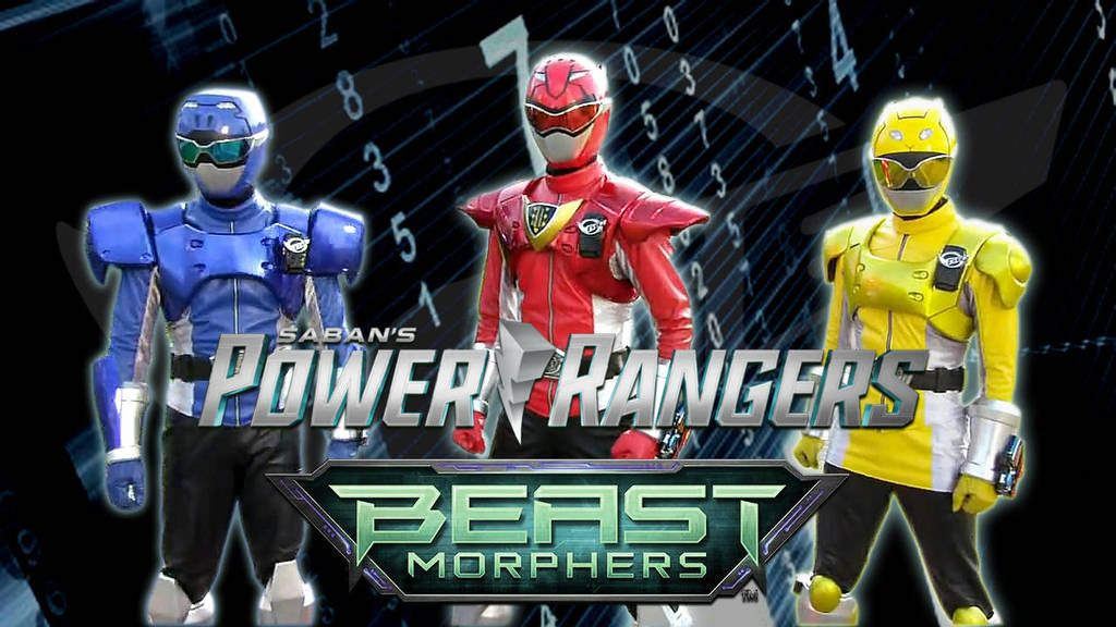Power Rangers Beast Morphers Team: Powered Mode by Bilico86
