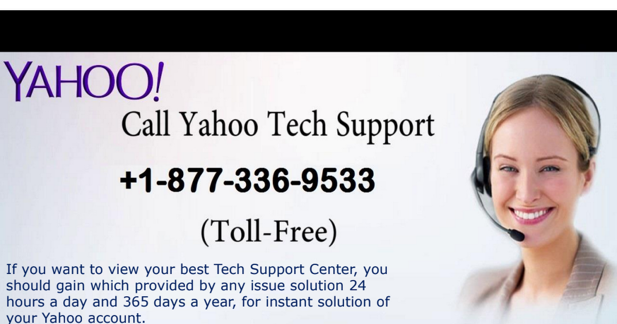 Yahoo Contact Support Service Help Number +18773369533