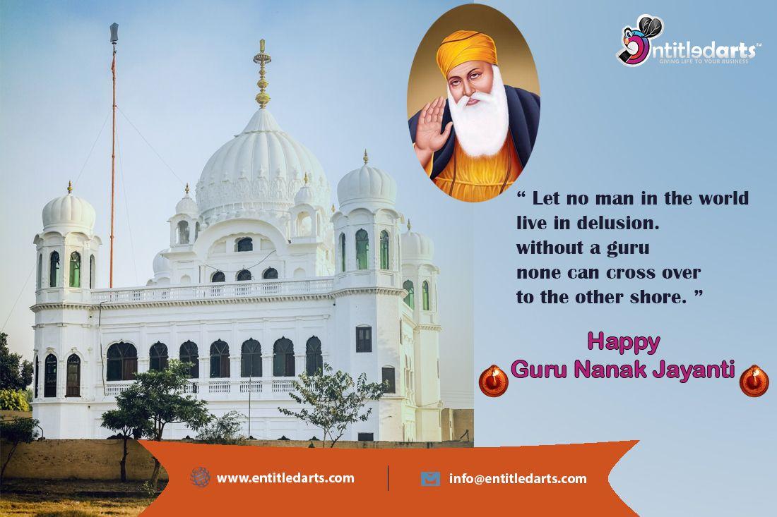 Happy gurpurab guru nanak jayanti 2019 entitled arts