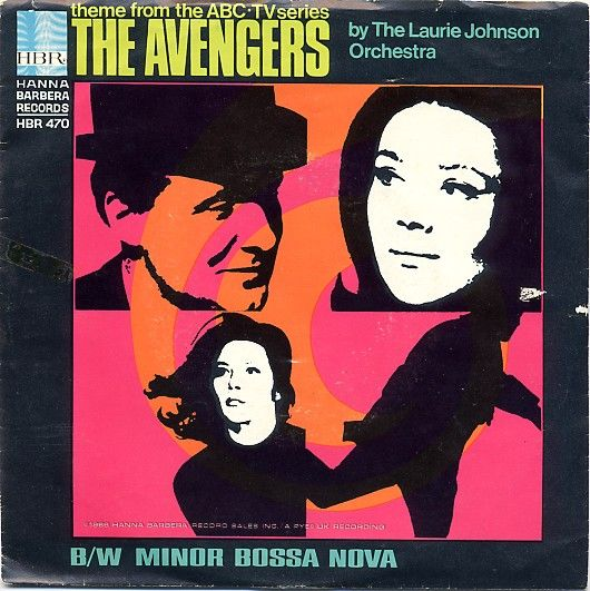 The Laurie Johnson Orchestra - Theme from the Avengers/Minor Bossa Nova (1966)
