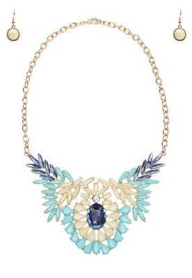 8725a60ebe48 Joyeria - Collar Azul con Cristales - Pink Revolver Precio   390.00 ...