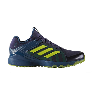 Adidas Hockey Lux Shoes for Men in Blue and Yellow in 2020 ...