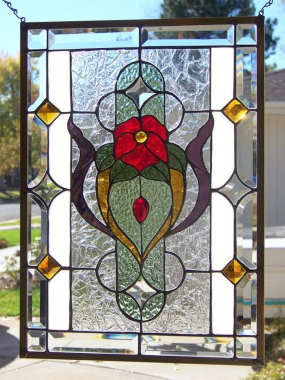 Stained Gl Window Hanging 21 3 4 X 15 Products