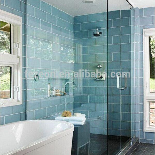 metrotegels badkamer: badkamers voorbeelden badkamer kleuren ...