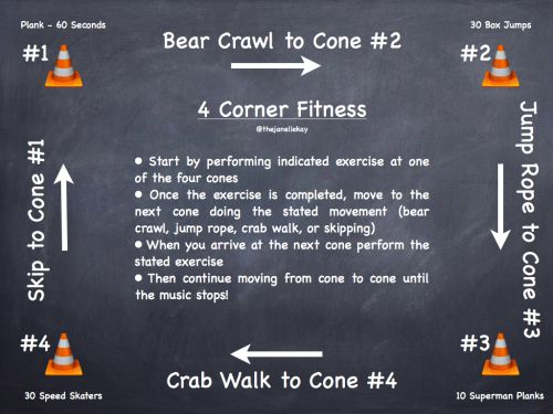 Looking for some ways to change up your PE fitness ...