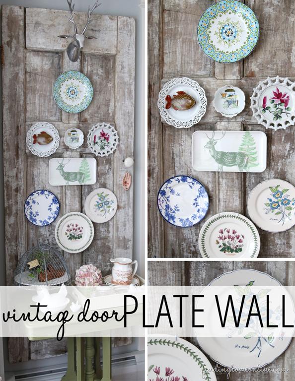 Decorating Ideas Vintage Door Plate Wall & Decorating Ideas: Vintage Door Plate Wall | Plate wall Vintage ...