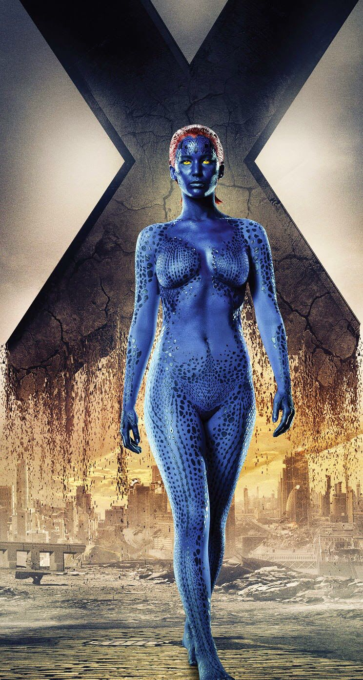 X Men Days Of Future Past Jenifer Lawrence As Mystique Jennifer Lawrence X Men X Men Days Of Future Past