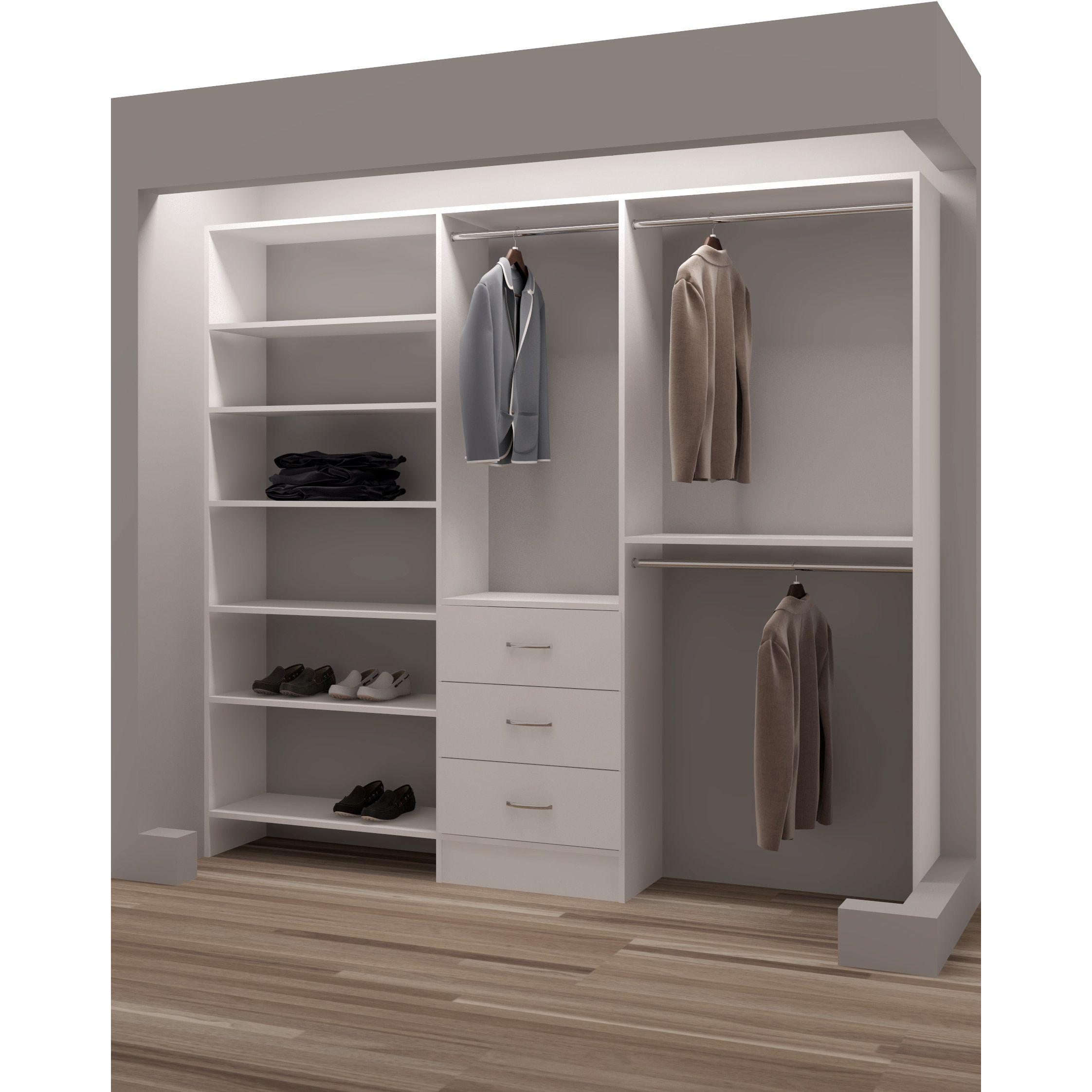 Closet Door Ideas Organizer Systems Wardrobe Sliding Doors Shelving Storage