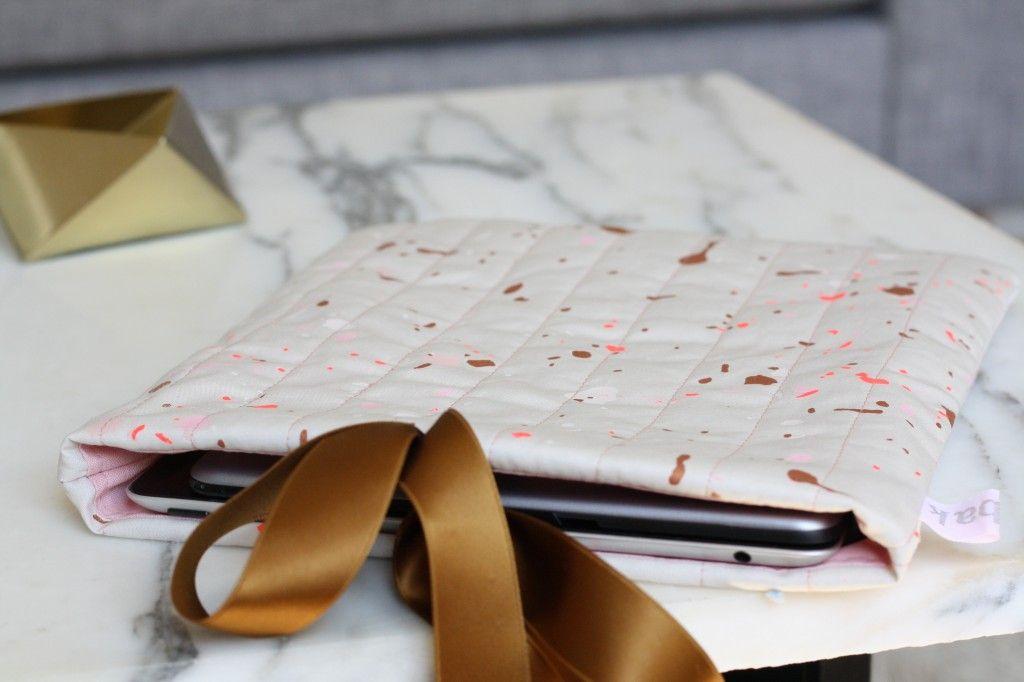 Homemade iPad sleeve