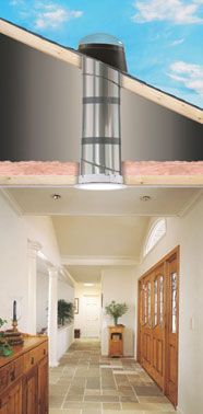 17 Best images about VELUX SUN TUNNEL skylights on Pinterest | Solar, Sun  and Hallways