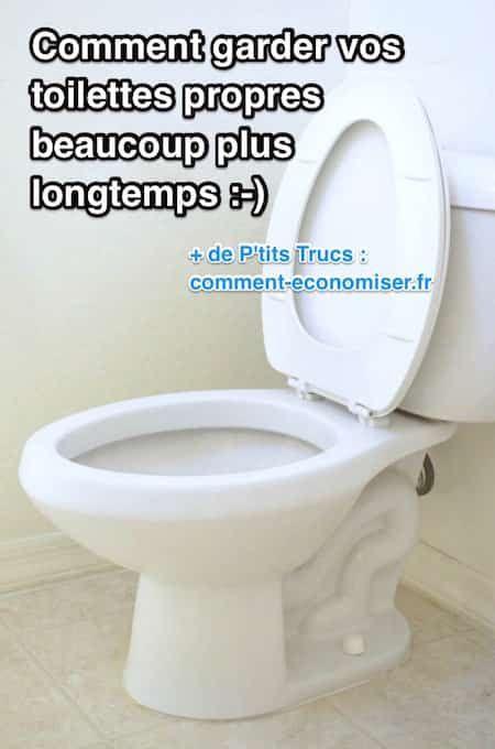 comment garder vos toilettes propres beaucoup plus longtemps laetitia pinterest. Black Bedroom Furniture Sets. Home Design Ideas
