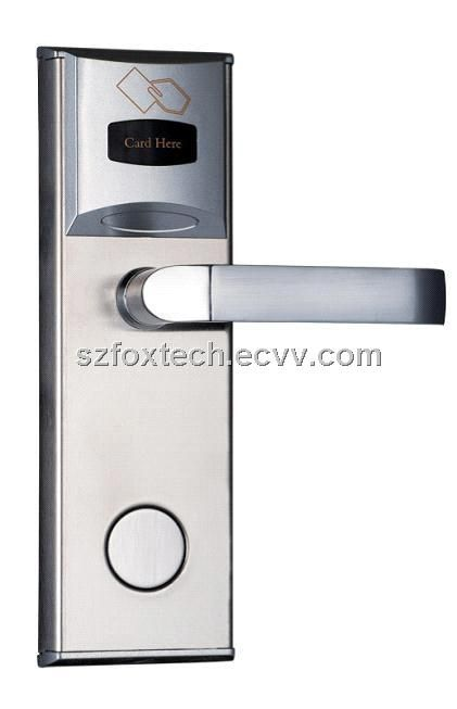 Hotel Electronic Door Lock Hotel Door Lock System Fl 0107s Fl 0107s China Door Entry System Keyless Entry D Keyless Door Lock Smart Door Locks Door Locks