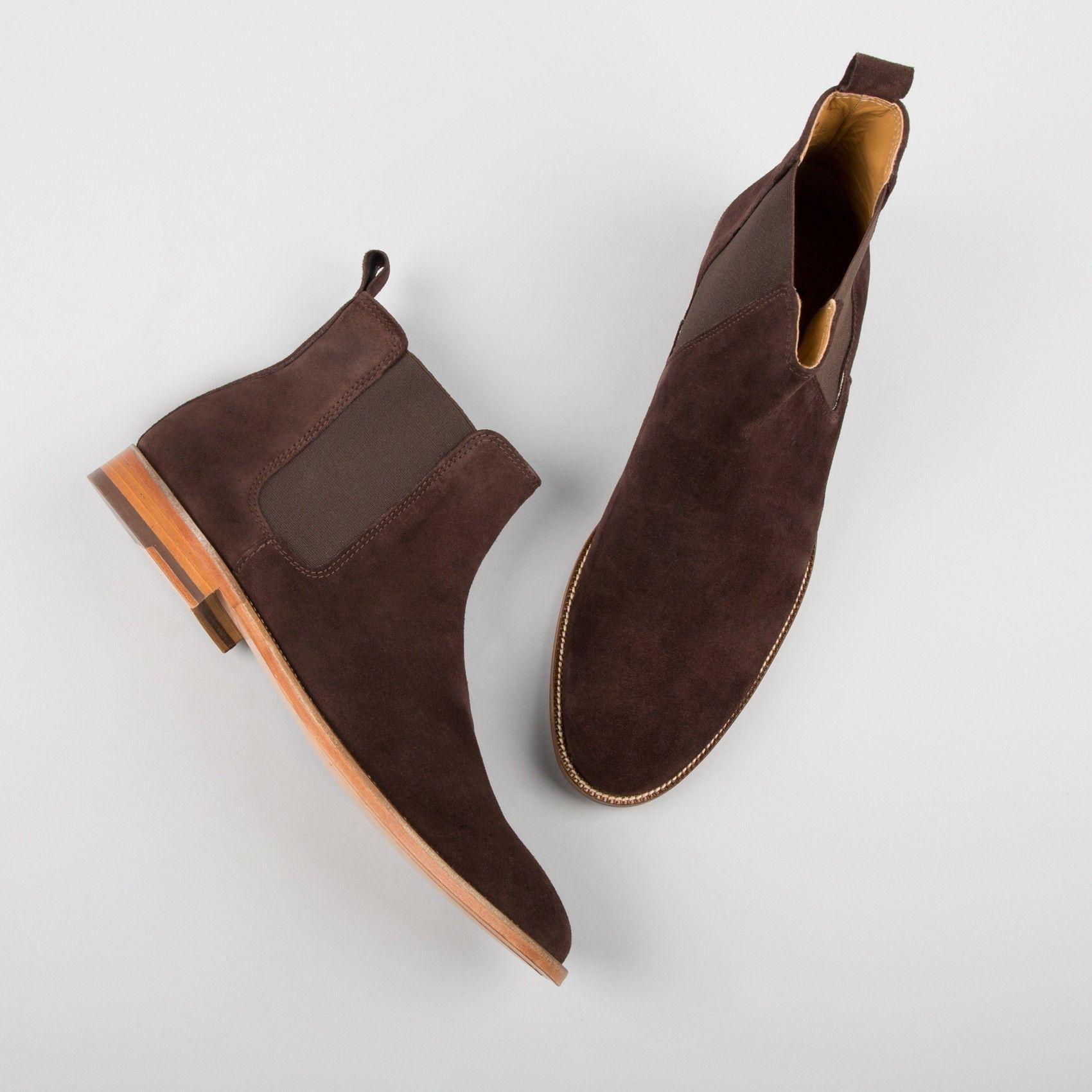 chelsea boots marron chocolat l 39 horloger bobbies. Black Bedroom Furniture Sets. Home Design Ideas