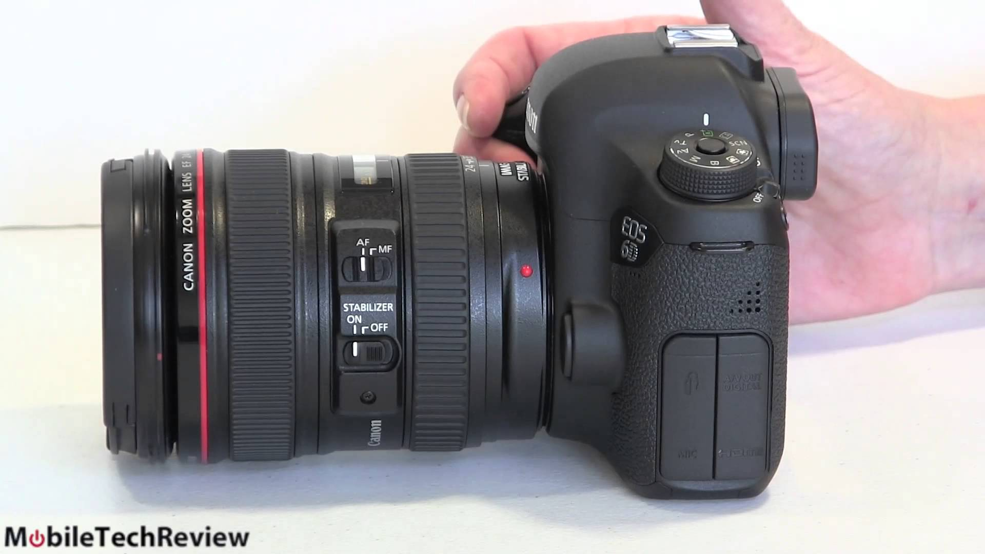 Lisa Gade reviews the Canon EOS 6D full frame DSLR camera with Canon ...
