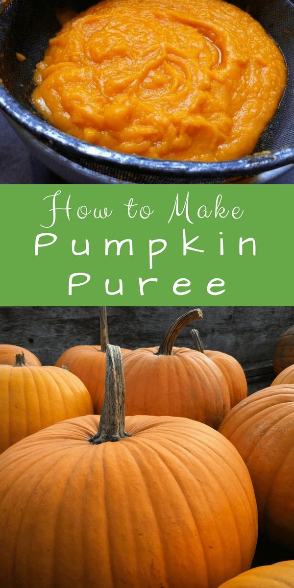 How to Make Pumpkin Puree from a Whole Pumpkin #pumpkinpureerecipes