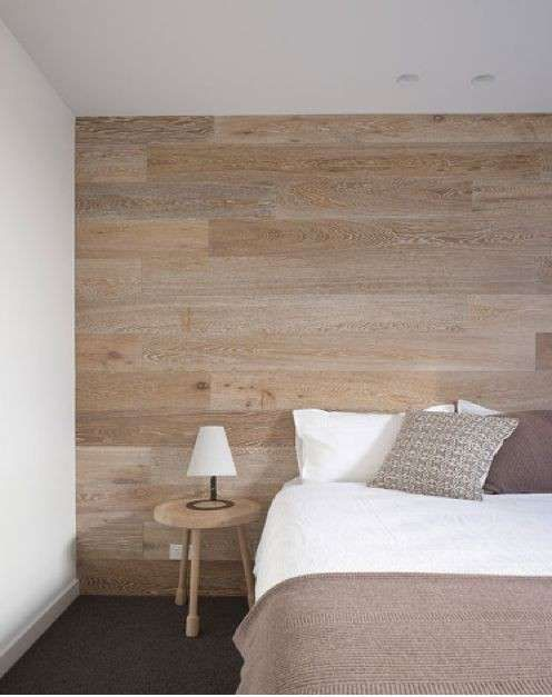 Decorare le pareti con il legno - Camera da letto minimal | Cameras ...