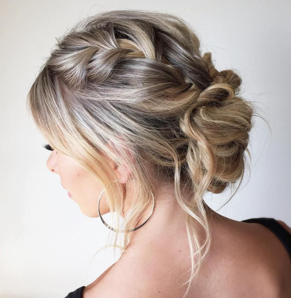 30 quick and easy updos for long hair in 2020  easy updos