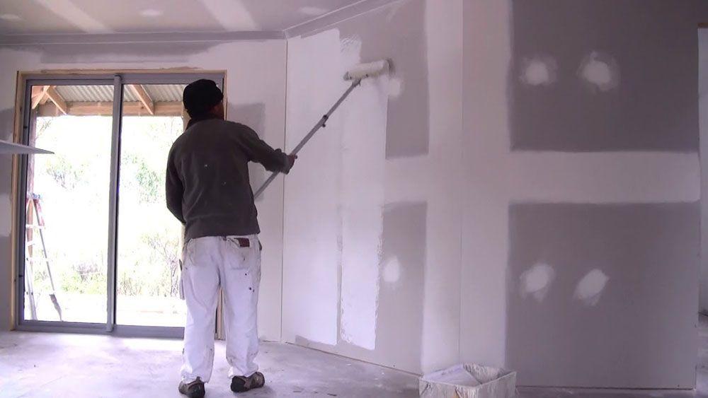 How To Prepare New Plaster For Wallpaper Including How To Prepare Drywall And Plasterboard For Wallpapering Diy Diydoctor Diy Doctor Primer Primer Sealer