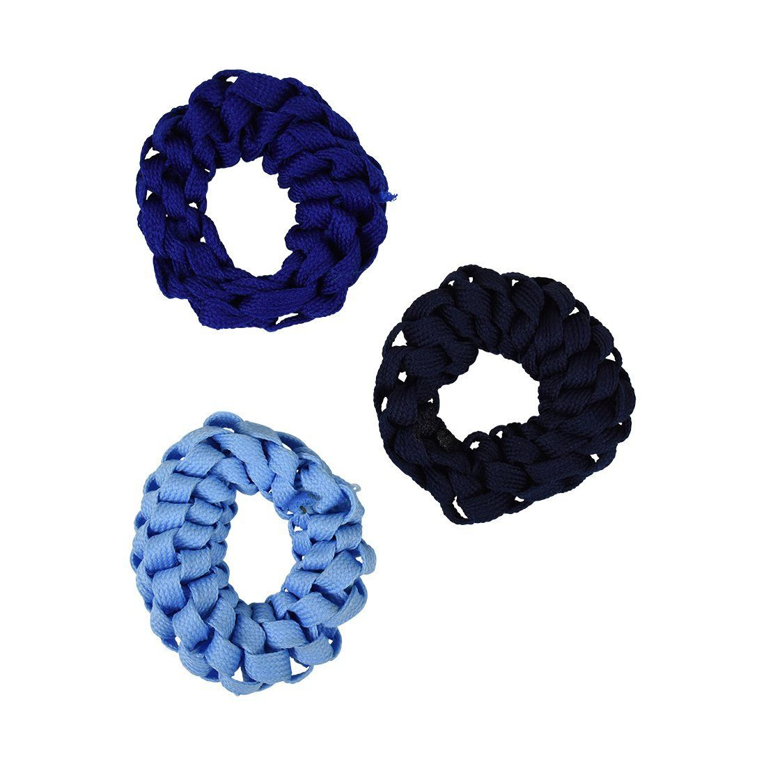 Set Of 3 Braided Hair Scrunchies Pony Holders For Women And Girls Blues This Is An Amazon Affiliate Link Check Out This Hair Elastic And Tie Braided Hairstyles Braids Hair Accessories