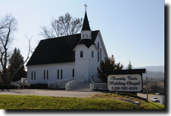 Serenity Point Wedding Chapel Pigeon Forge TN Chapels Tennessee