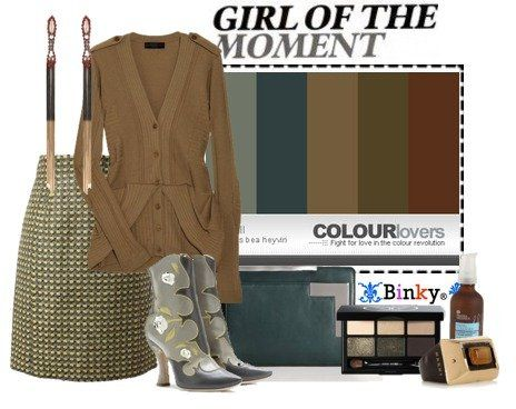 binky's stylebook at ShopStyle: Multiple Personalities #17: Street Style Blogger & Palettespiration #111: Skyfall
